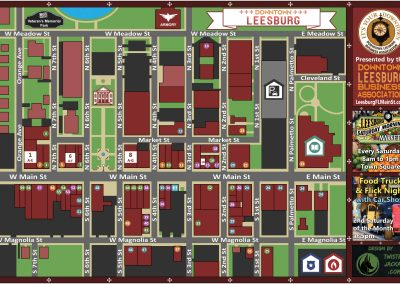 Downtown Leesburg Map